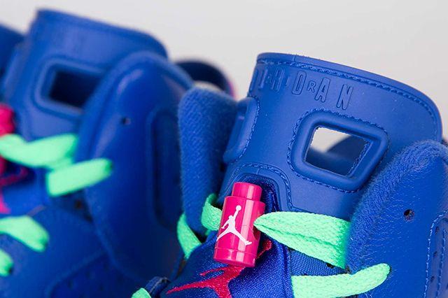 Air Jordan 6 Gs Game Royal 4