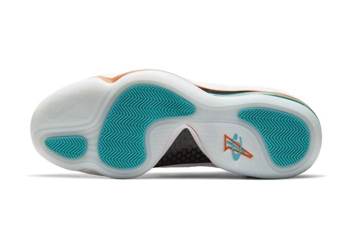 Nike Air Penny 5 Miami Dolphins Outsole