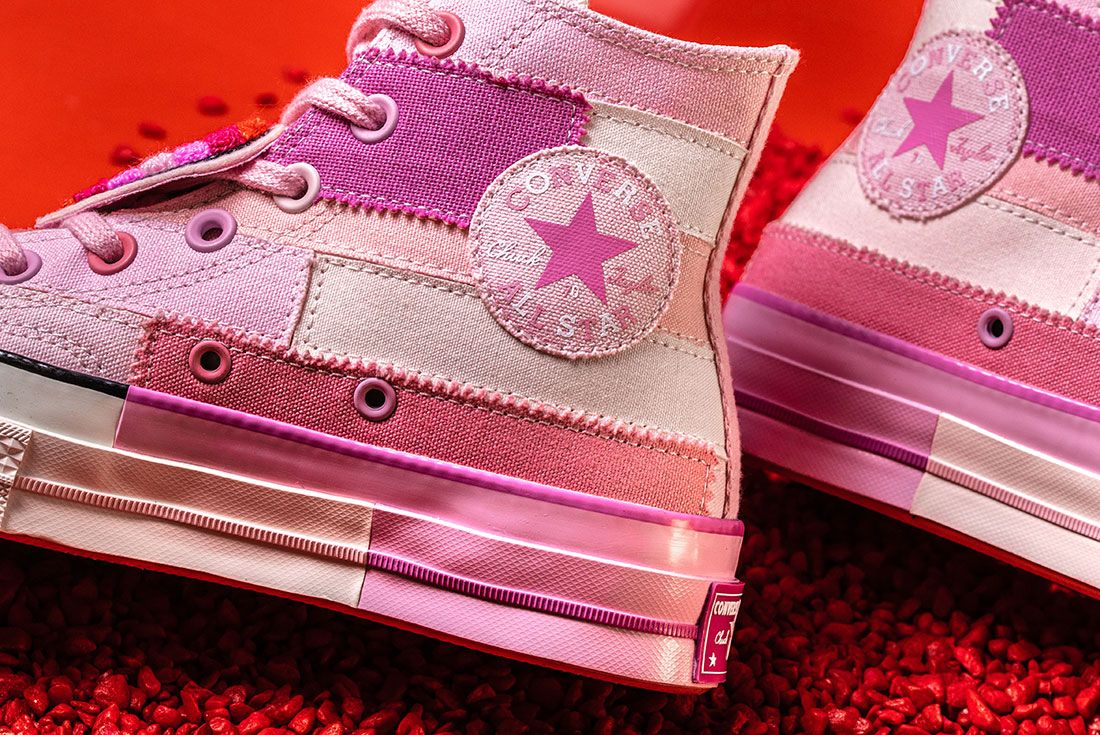 Converse X Millie Bobby Brown Collection Sneaker Freaker Pink Chuck 704