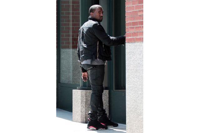 Kanye West Sneaker Style Jordan 6
