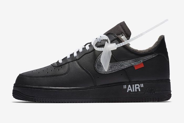 Off White Nike Air Force 1 Low Moma Left