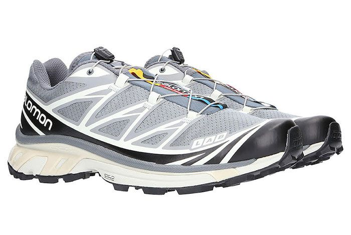 Salomon Slab Xt 6 Softground Adv Grey Front Angle