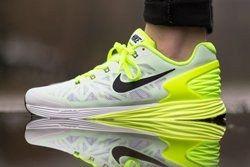Nike Lunarglide 6 Gs Liquid Lime Volt Thumb