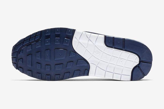 Nike Air Max 1 White Midnight Navy Pure Platinum 5