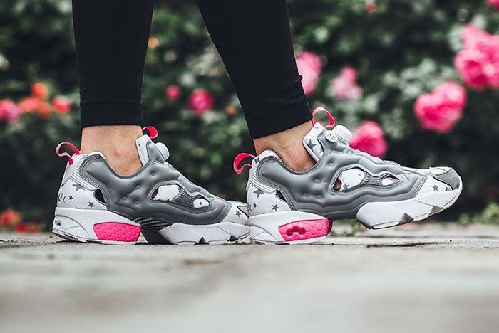 X Girl X Reebok Insta Pump Fury Feature