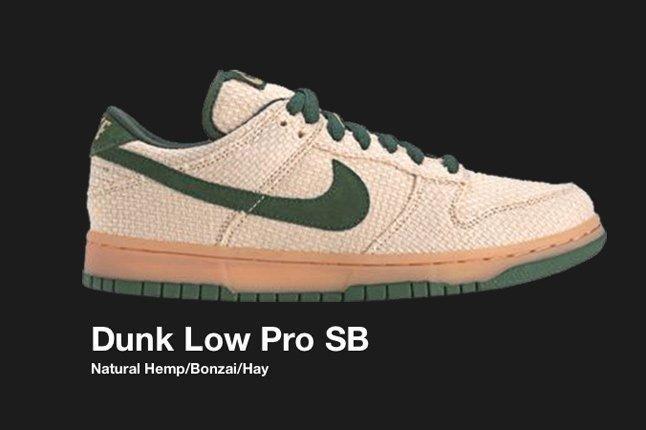 Nike Dunk Sb Low Hemp 2004 1