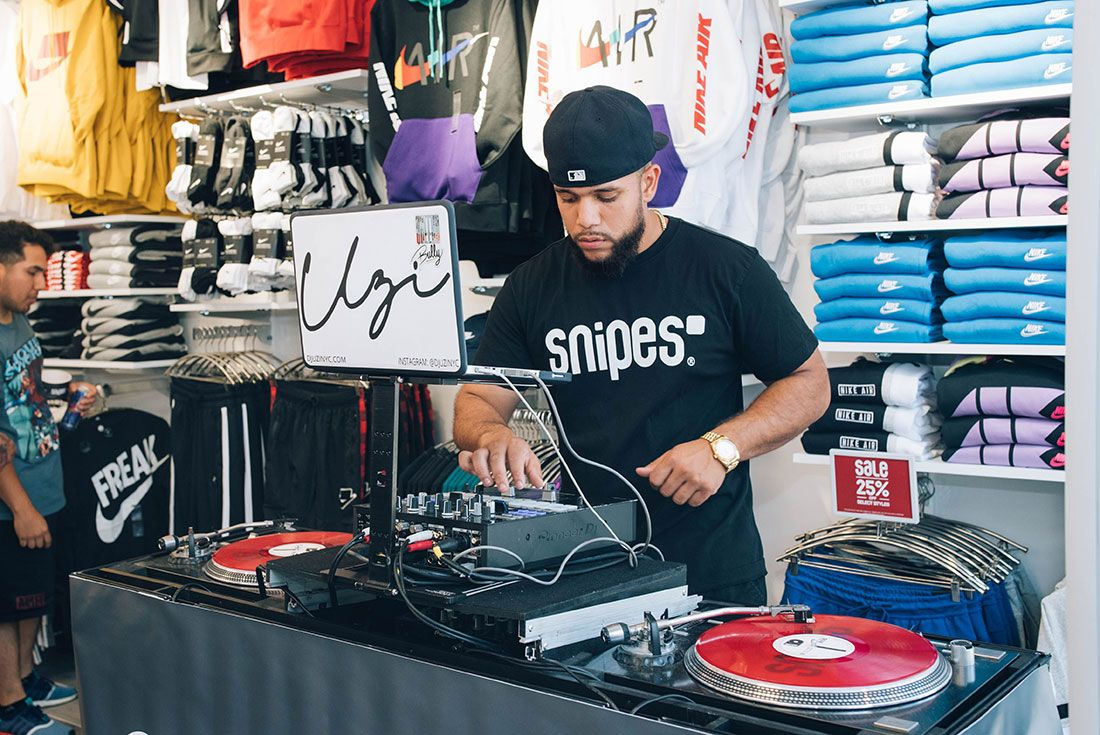 Snipes Store Opening Brooklyn People Shot29