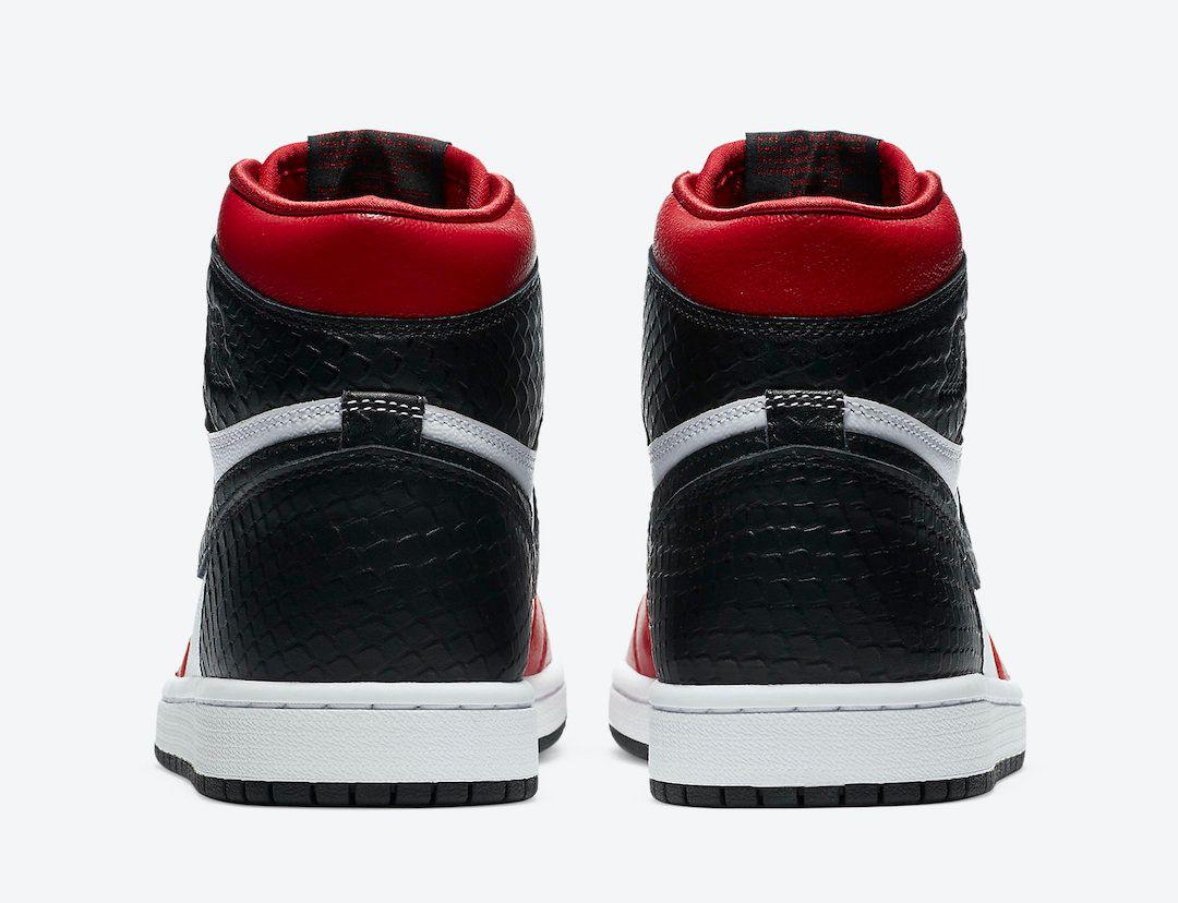 Air Jordan 1 Satin Snakeskin Heel
