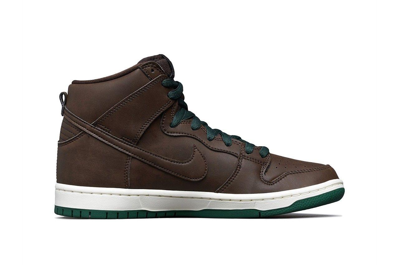 Nike SB Dunk High Baroque Brown