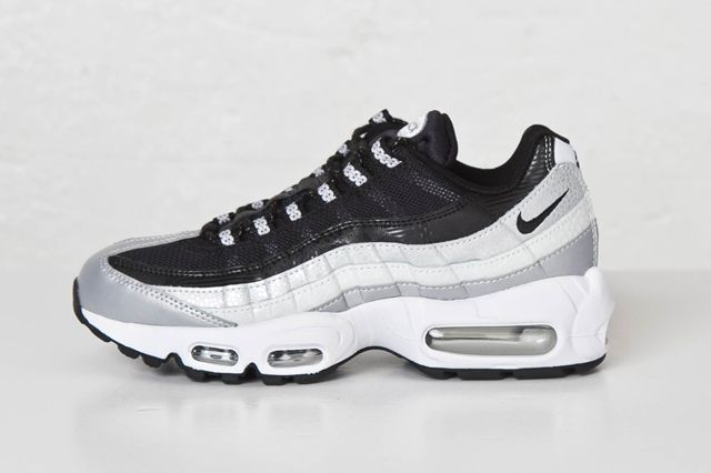 Nike Am95 Black Platinum Bump Sns 41