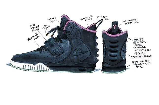 Nike Kanye Yeezy 2 4 1