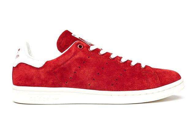 Adidas Stan Smith Suede Pack Red