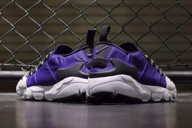 Nike Air Footscape Motion Grey Purple Heel Profile 1