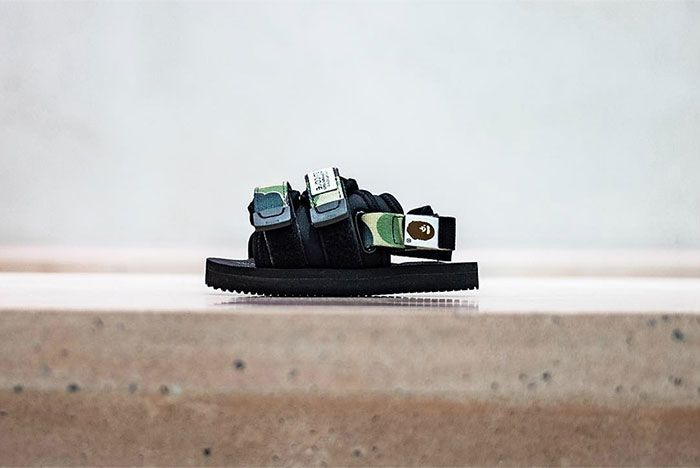 Bape Suicoke Model Dao Side Shot 1