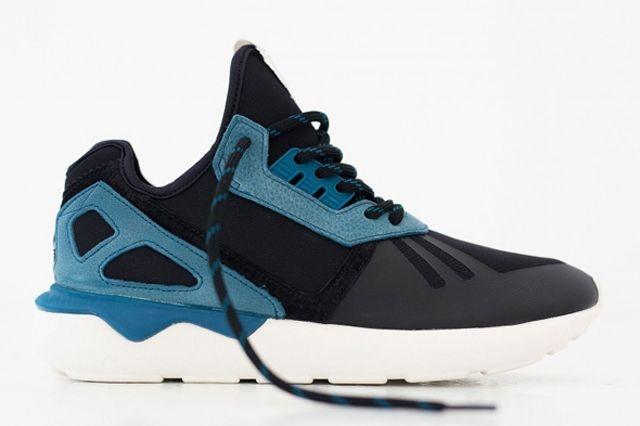 Adidas Tubular Two Tone Turquoise Black 02