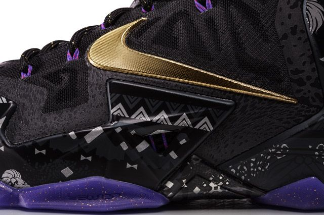Nike Sp14 Bhm Basketball Lebron 11 Swoosh