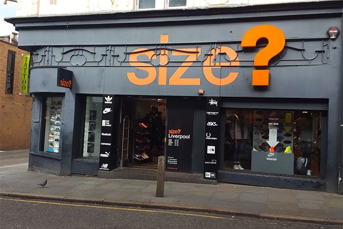 Size Liverpool