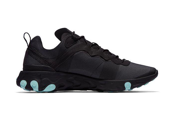 Nike Element React Black Blue 4