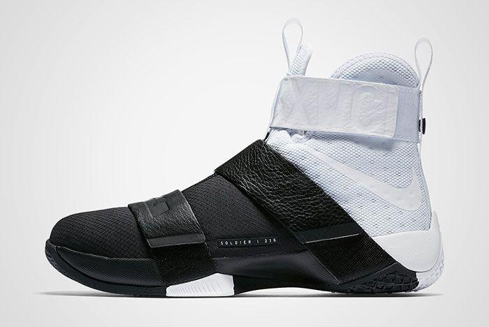 Nike Lebron Zoom Soldier 10 Pinnacle Black White Thumb