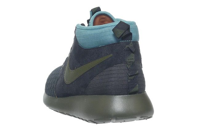 Nike Roshe Run Sneakerboot Darkloden Mineral Teal 4