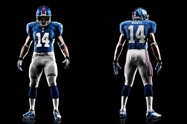 New York Giants Uniform 1