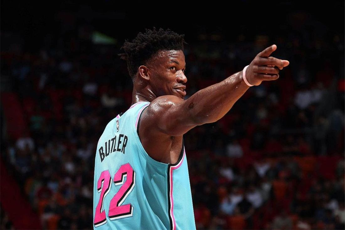 jimmy butler pointing