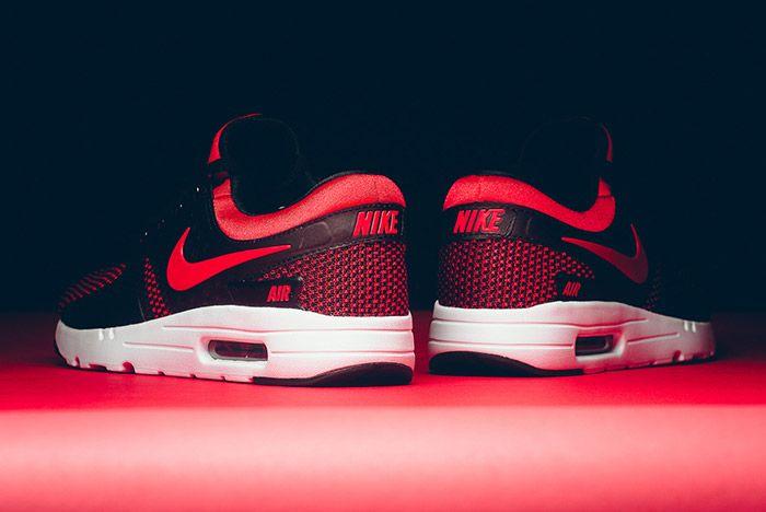 Nike Air Max Zero Black Red 7