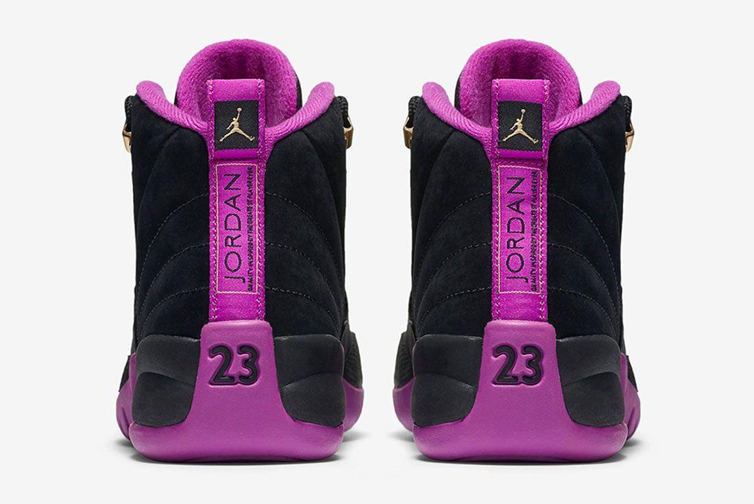 Air Jordan 12 Gs Violet 5