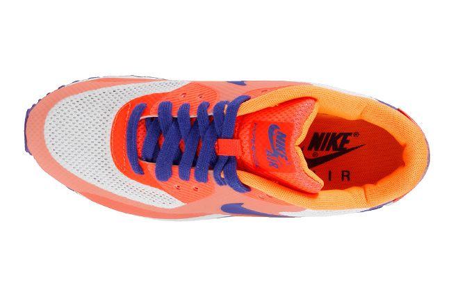 Nike Air Max 90 Premium Hyperfuse 2013 Orange Top 1