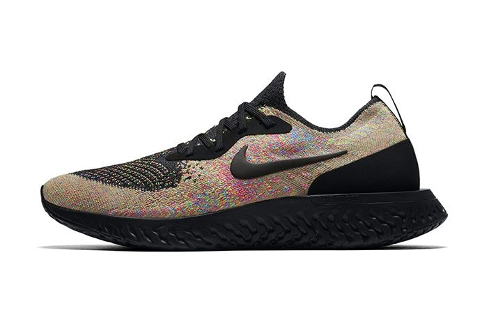 Nike Epic React Flyknit Multicolour Black 2