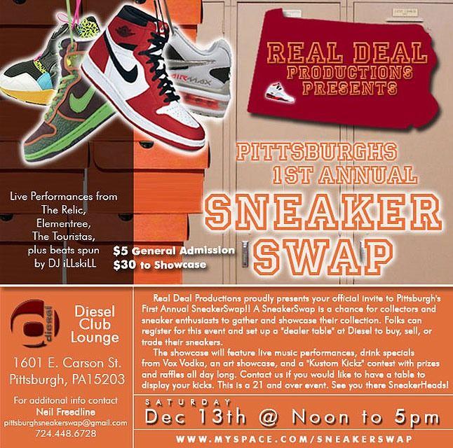 Pittsburgh Sneaker Swap 1