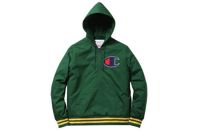Green Champion Hoodie 1