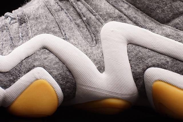 Adidas Crazy 8 Heather Wool 41