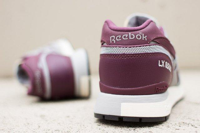 Reebok Lx 8500 Grey Burgundy 3