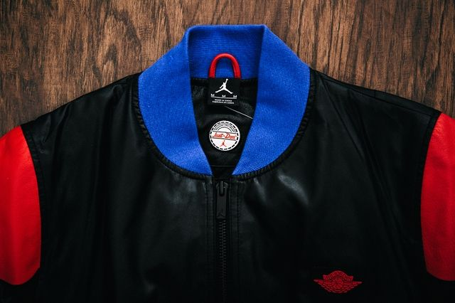 Just Don Air Jordan 2 Pinnacle Bomber Jacket Black 1