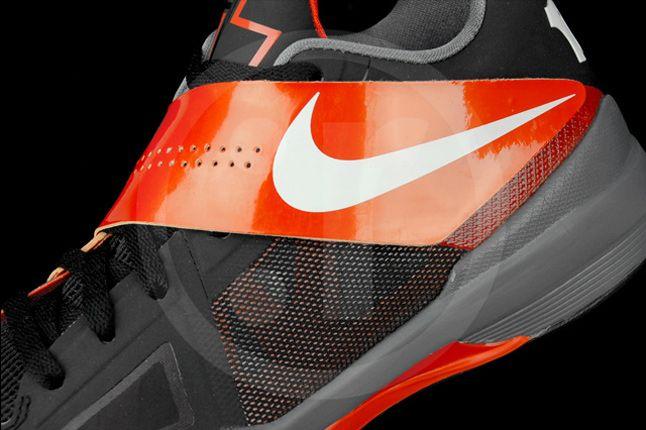 Nike Kd 4 Black Team Orange 08 1