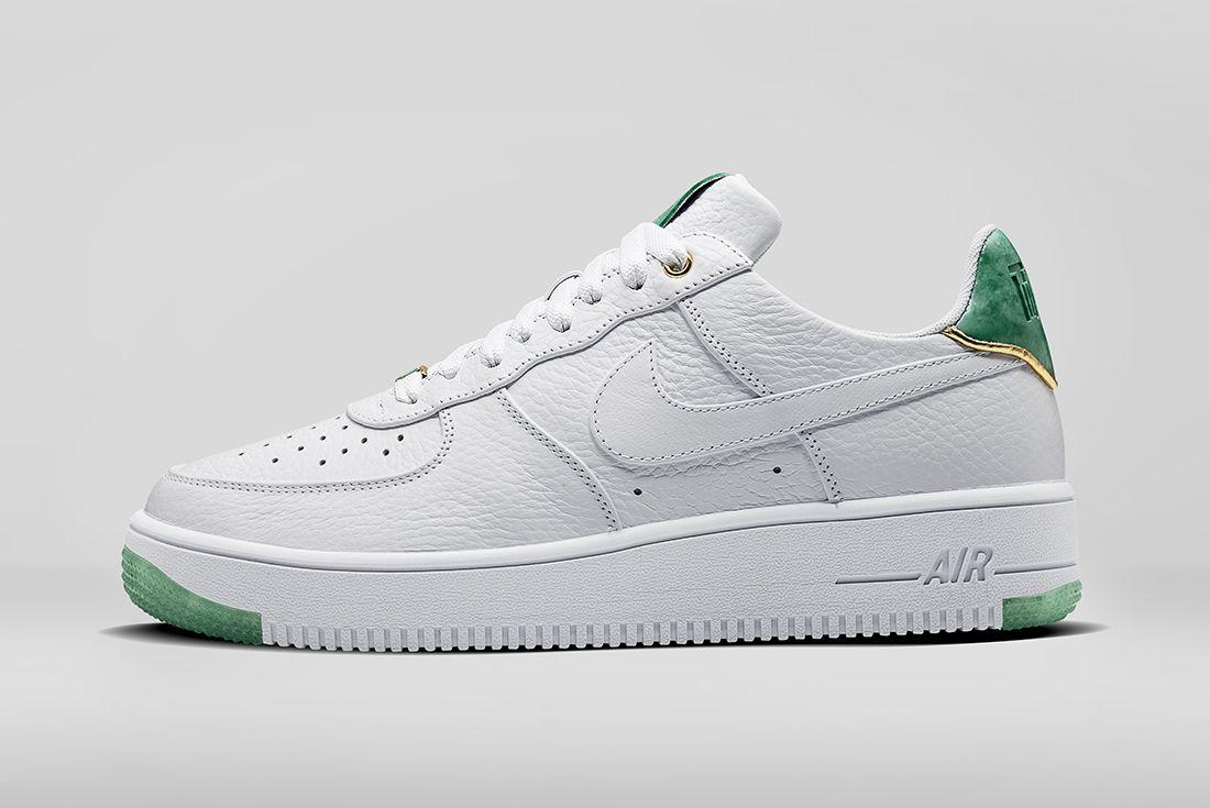 Nike Air Force 1 2017 Nai Ke Collection Jade3