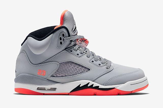 Air Jordan 5 Gg Wolf Grey Hot Lava 2