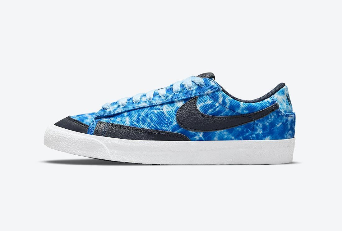 Nike Blazer Low 'Acid Wash'