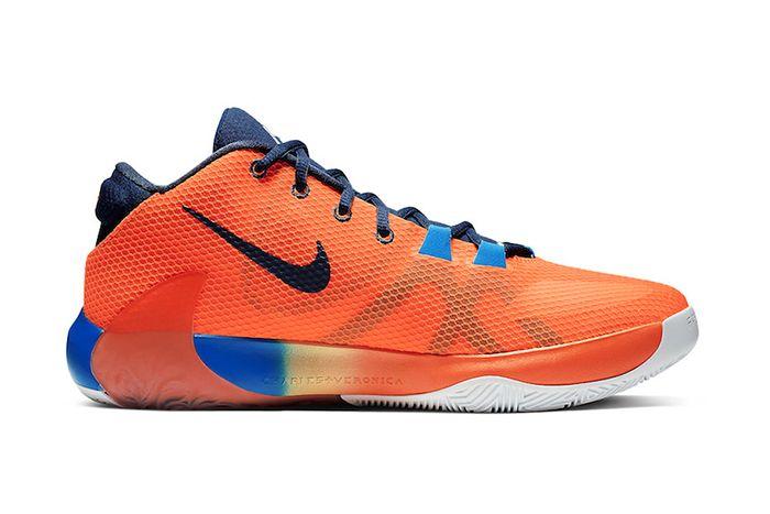 Nike Zoom Freak 1 Total Orange Bq5422 800 Release Date Medial