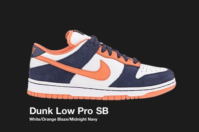 Nike Dunk Sb Navy Orange 2003 1
