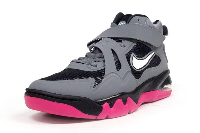 Nike Air Force Max Cb2 Hyperfuse Grey Vivid Pink 5