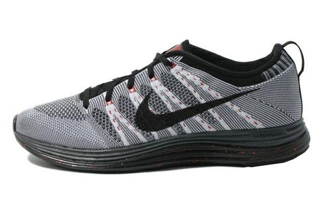 Nike Flyknit Lunar 1 Black Sole