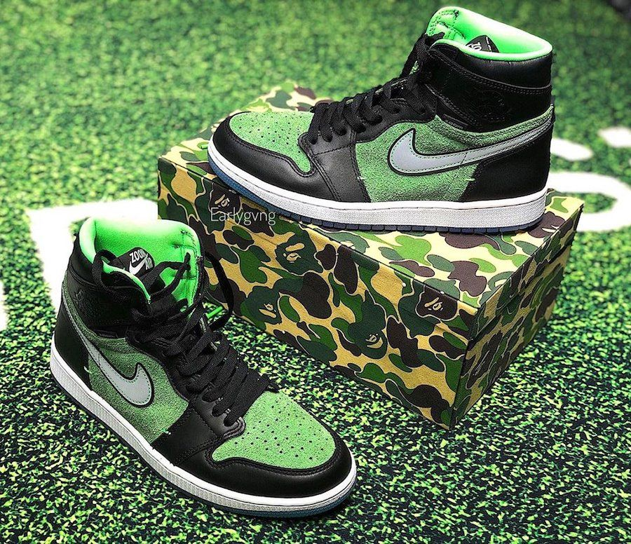 Air Jordan 1 Zoom 'Rage Green'