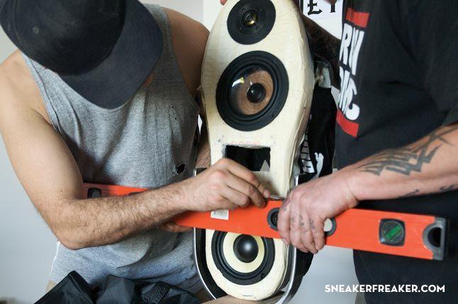 Doom Sneaker Speakers Making Of 24 1
