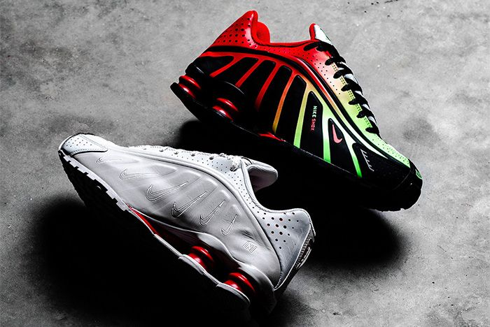 Nike Shox R4 Neymar Both
