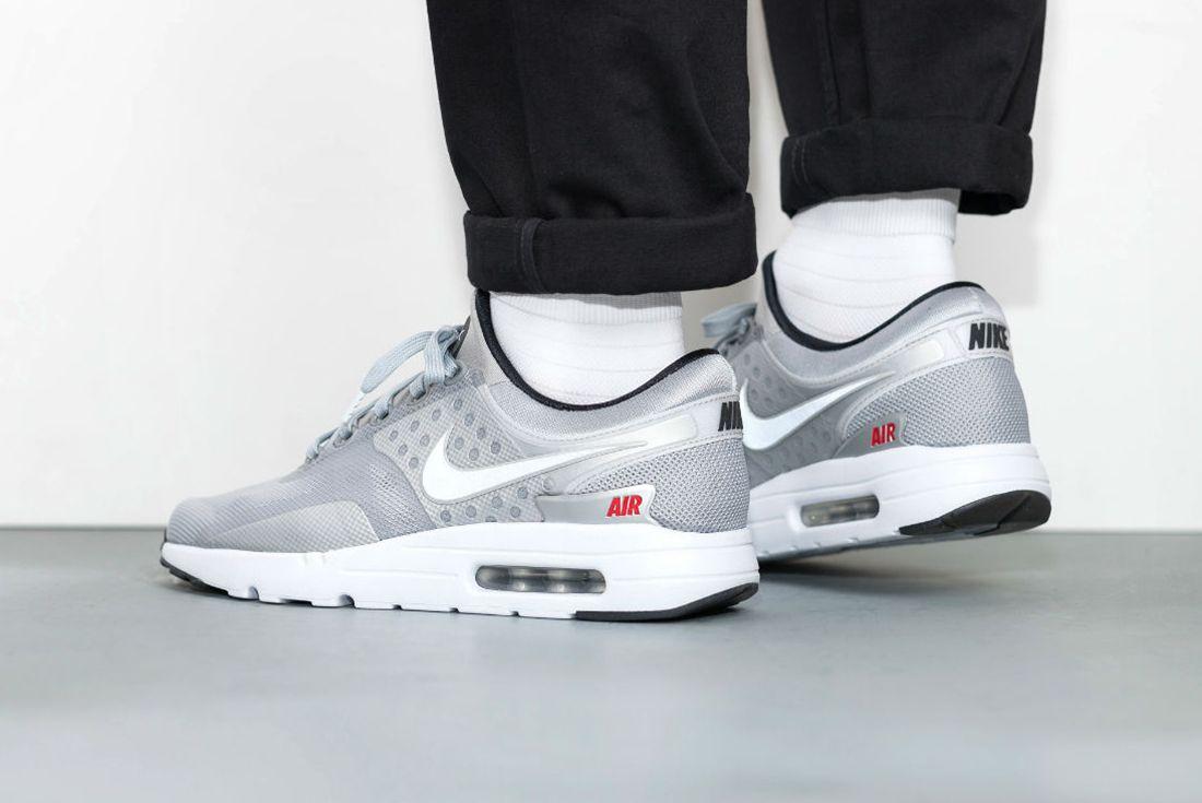 Nike Air Max Zero Metallic Silver12