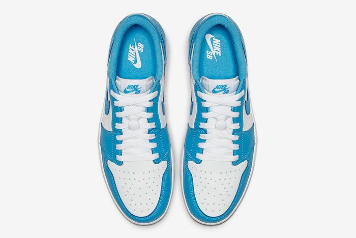 Nike Sb Air Jordan 1 Low Unc Cj7891 401 Top