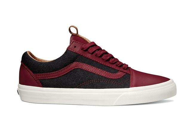 Vans Leather Wool 3
