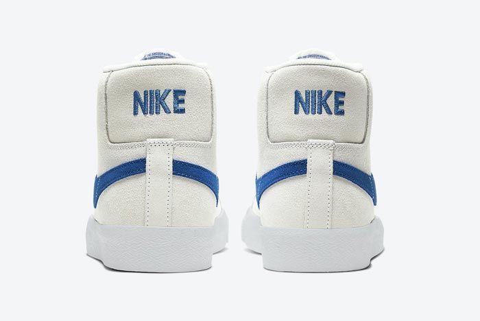 Nike Blazer Mid Lazer Blue Heels